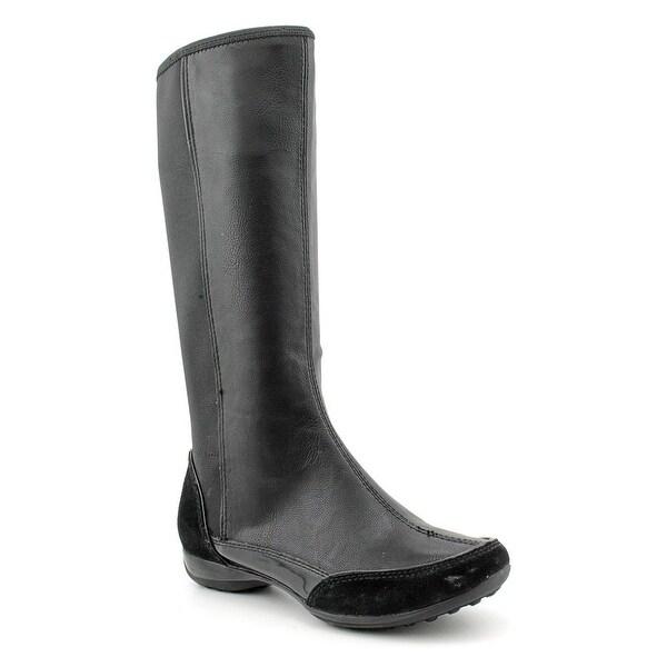 Giani Bernini Cadiz Women Round Toe Leather Mid Calf Boot