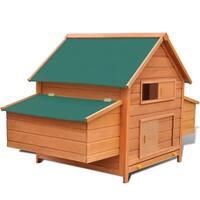 """vidaXL Chicken Coop Wood 61.2""""x38.2""""x43.3"""""""