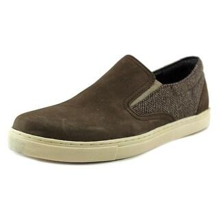 Crevo Walden Men Round Toe Leather Brown Loafer