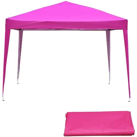 Ainfox 10 x 10 ft Pop-Up Canopy Tent Gazebo for Party Garden