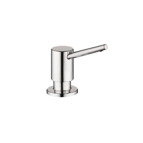 Hansgrohe 4539 Contemporary Soap Dispenser with 16 oz Bottle Capacity - n/a
