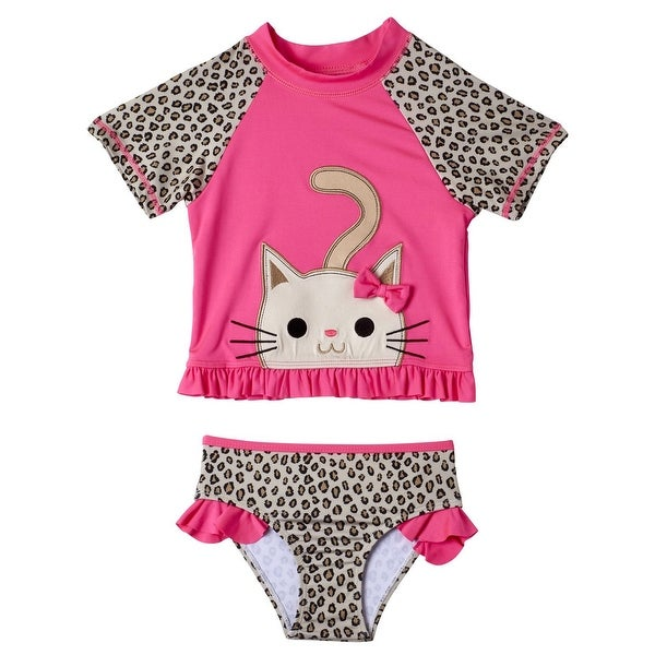 a5d4a2a4458ec Product Image One Piece Rashguard Swimsuit Baby Boys Source · Shop Wippette  Toddler Girls Swimwear Cheetah Swimsuit 2 Piece