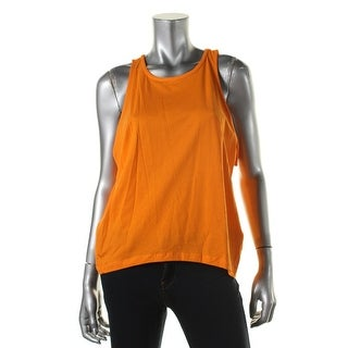 Zara W&B Collection Womens Solid Sleeveless Casual Top