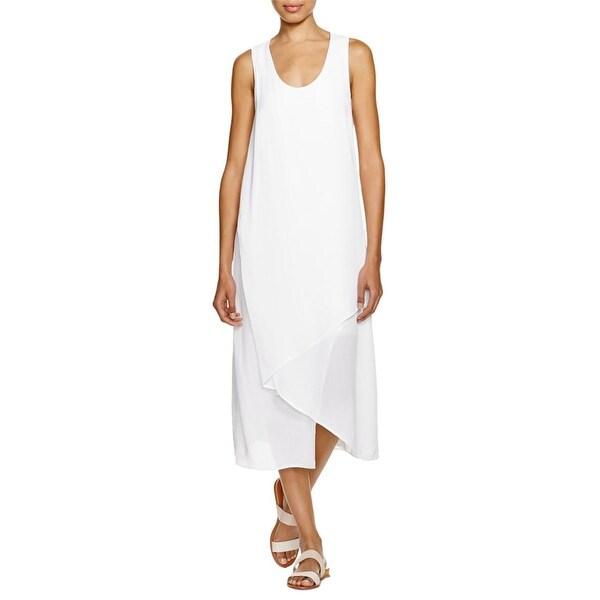 XCVI Womens Maxi Dress Ombre Asymmetric