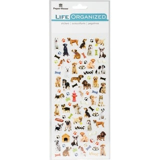Paper House Life Organized Micro Stickers 2/Sht-Dogs