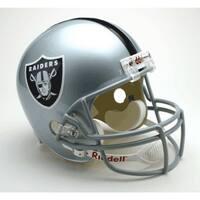 Oakland Raiders Riddell Deluxe Replica Helmet
