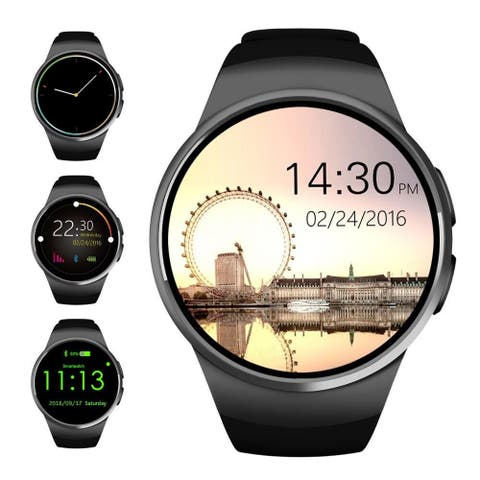 AGPtek Bluetooth Smart Watch Phone SIM TF Sleep Monitor Heart Rate Monitor for IOS Android Smartphones