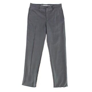 Giorgio Armani NEW Men's Black Size 30X36 Dress - Flat Front Pants