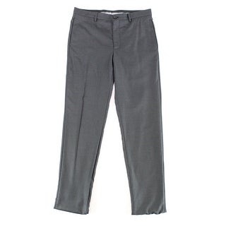 Giorgio Armani NEW Men's Black Size 36X35 Dress - Flat Front Pants