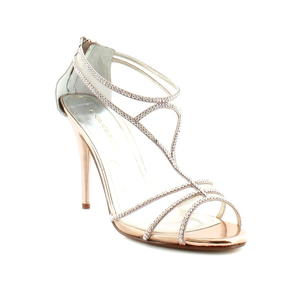Caparros Blue Bell Women's Heels Rose Gold - 11
