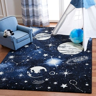 Link to Safavieh Carousel Kids Kyle Solar System Rug Similar Items in Rugs