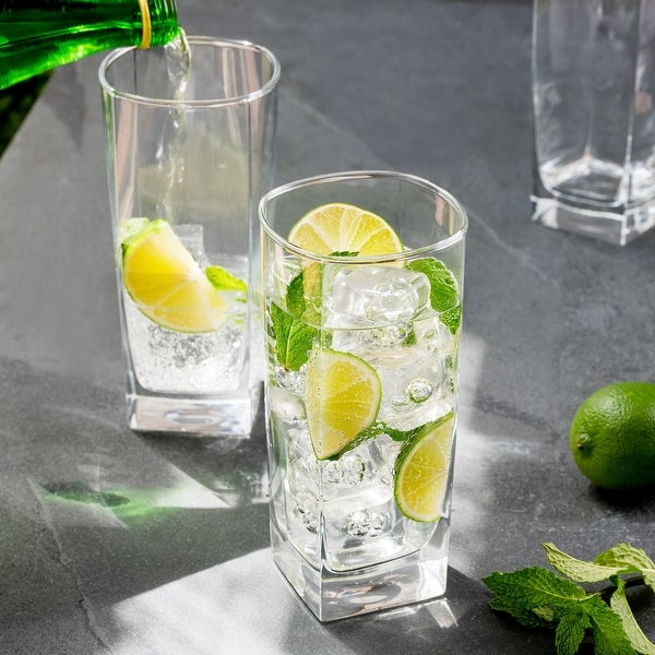Luminarc 16 Ounce Sterling Cooler Glass, Set of 4. Opens flyout.
