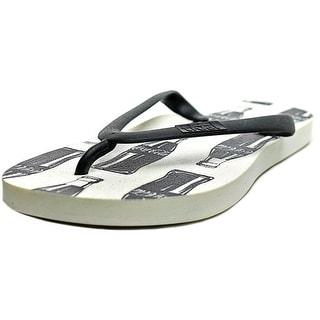 Tidal Contour Open Toe Synthetic Flip Flop Sandal