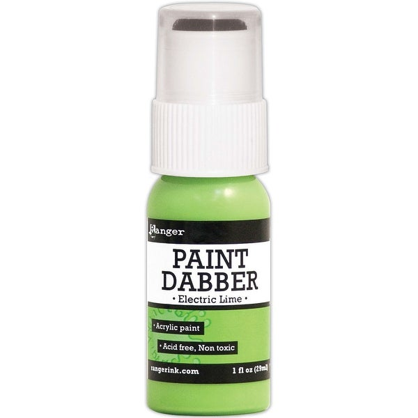 Paint Dabbers 1oz-Electric Lime