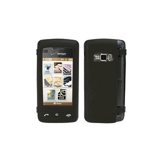 Verizon OEM enV Touch Silicone Skin Case for LG VX11000 (Black) - LGENVTSILB1 (B
