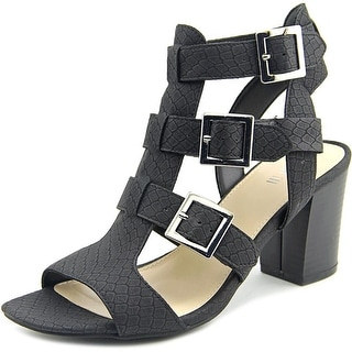 Bar III Kara Women Black Sandals