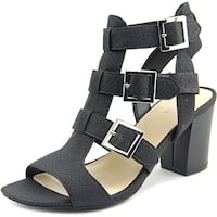 Bar III Kara Women Black Sandals