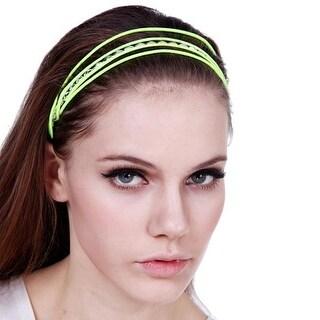Mad Style Yellow Neon Headband