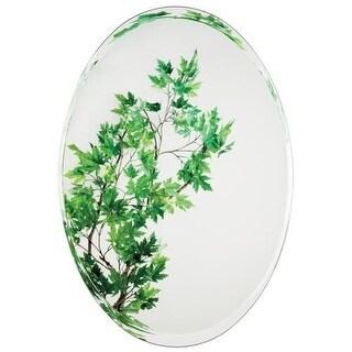 Alno 9564-302 24 x 36 Inch Frameless Oval Mirror