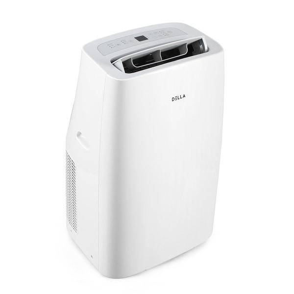 DELLA 10000 BTU Portable Air Conditioner AC Self Auto Evaporation System - Fan - Dehumidifier - Rooms up to 450 Sq. Ft.