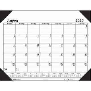 "Link to Economy Academic Monthly Desk Pad Calendar, 17 Months August-December, 22"" x 17"" - One Size Similar Items in Planners & Accessories"