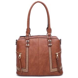 Style Strategy studyed Satchel Bag
