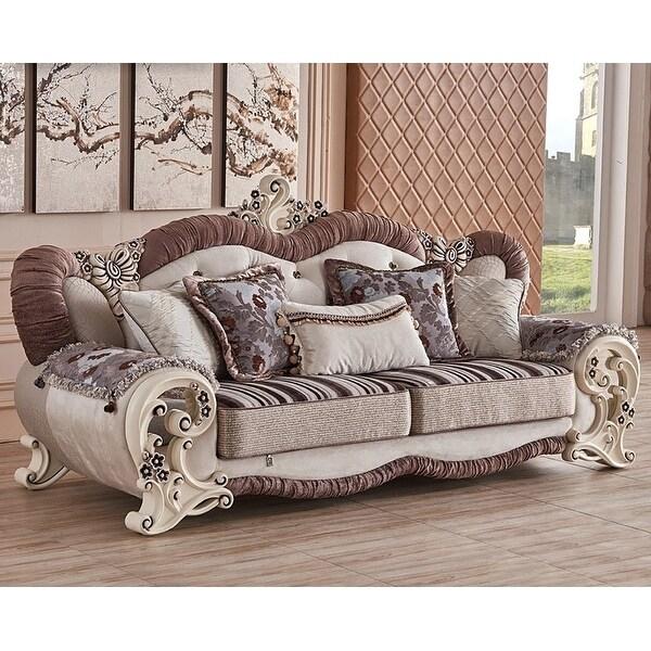 6 piece living room set. Luxury Design Royal Majestic 6 piece living room sofa set  Free Shipping Today Overstock com 22838509