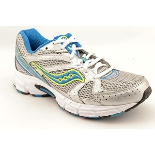 Saucony Grid Cohesion 6 Women Round Toe Synthetic Silver Running Shoe