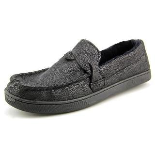 Isotoner Boater Moc Men Moc Toe Synthetic Slipper