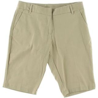 Izod Girls Stretch Bermuda Shorts - 16