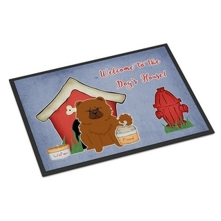 Carolines Treasures BB2896JMAT Dog House Collection Chow Chow Red Indoor or Outdoor Mat 24 x 0.25 x 36 in.