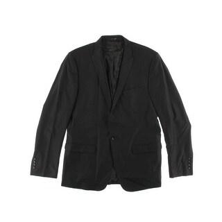 Zara Mens Wool Double Vent Blazer - 46