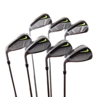 New Nike Vapor Speed Irons 4-GW (No PW) FST Steel R-Flex LEFT HANDED