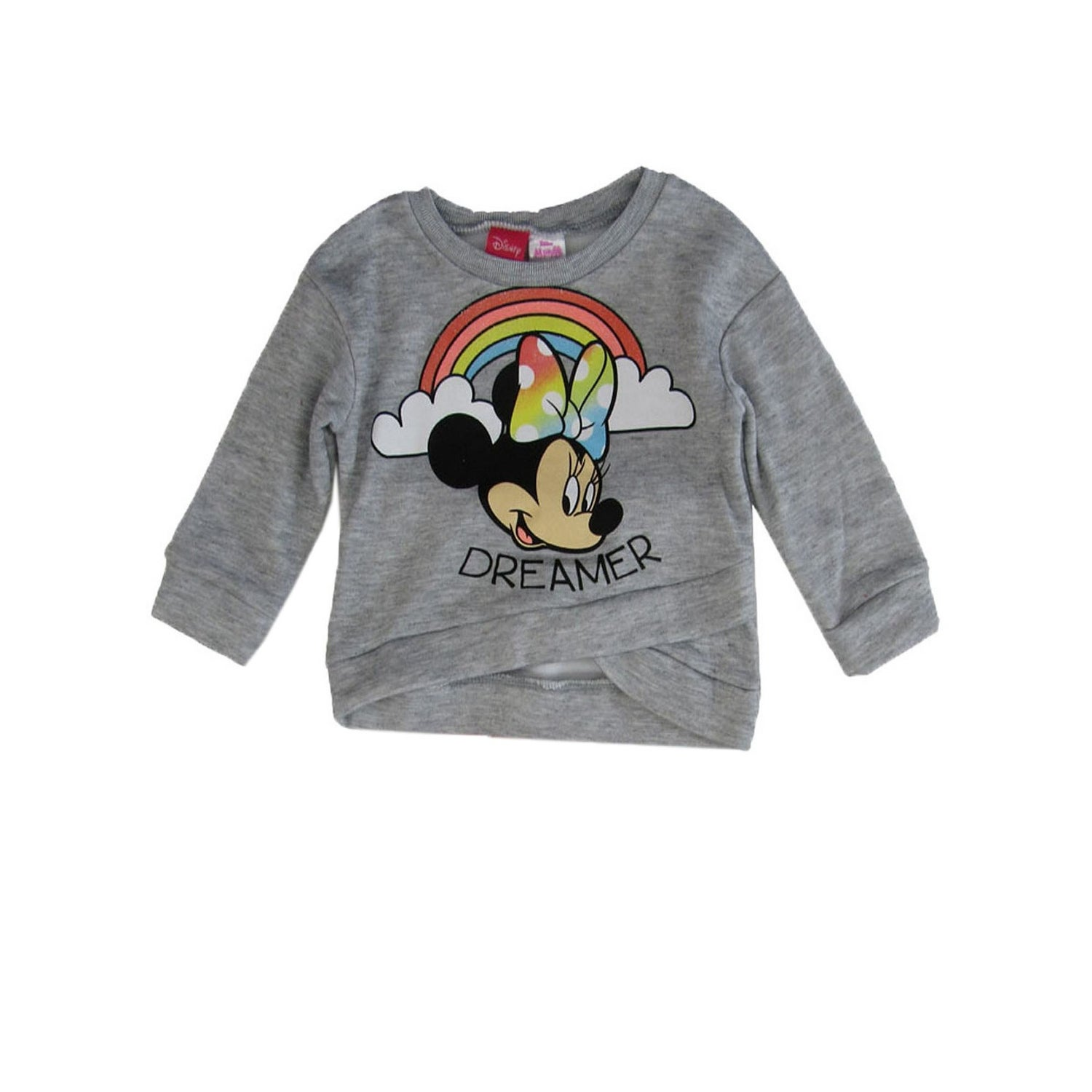 Disney Girls Minnie Mouse Long-Sleeve Pullover