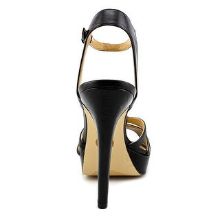 MICHAEL Michael Kors Womens catalina platform Leather Open Toe Special Occasi...