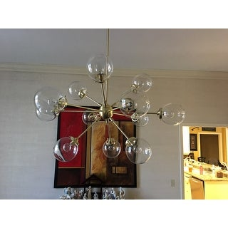 Shop Ink Ivy Paige Gold Chandelier Free Shipping Today