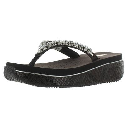 Volatile Susannah Women's Wedge Rhinestone EVA Sandals