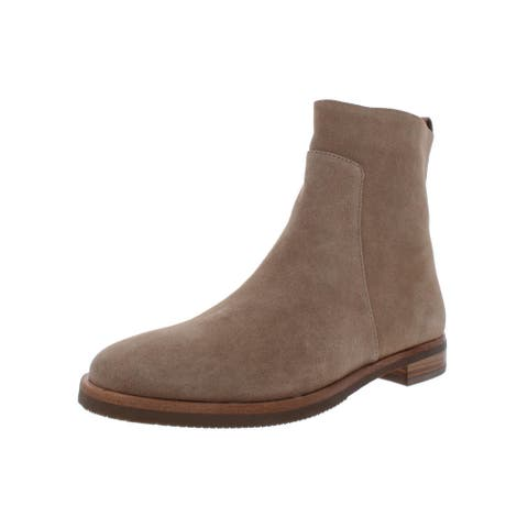 Gentle Souls by Kenneth Cole Womens Terran Bootie Ankle Boots Suede Flats