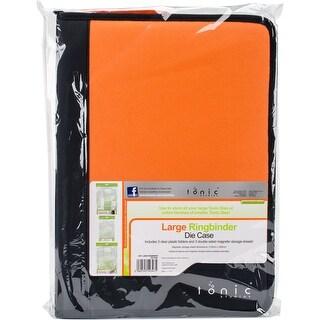 Black & Orange - Tonic Studios Large Ring Binder Die Case