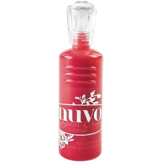 Nuvo Crystal Drops Grande 60Ml-Gloss-Red Berry