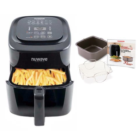 Nuwave 6-Qt. Brio Air Fryer w/ Accessory Kit