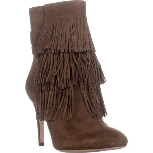 Via Spiga Vesta Fringe Dress Boots, Rattan - 5 us / 35 eu