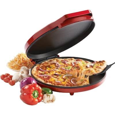 "Betty Crocker 12"" Nonstick Red Pizza Maker BC2958"