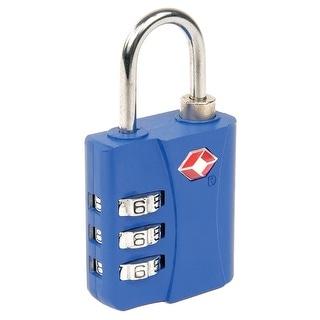TSA 3-Dial Combination Lock - Keep Your Belongings Safe!