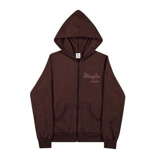 Tween Girl Hoodie Jacket Classic Zip-Up Sweater Teen Pulla Bulla Size 10-16 Year