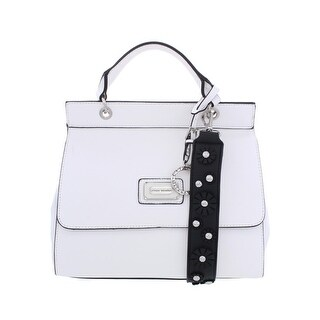 Catherine Malandrino Womens Juliet Shoulder Handbag Faux Leather Flap - Medium