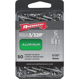 Arrow 5/32X1/8 Alum Rivet