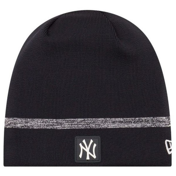 7673c2206e355 Shop New Era MLB New York Yankees Clubhouse Stocking Knit Hat Beanie Skull  Cap Black - Free Shipping On Orders Over  45 - Overstock - 27341208