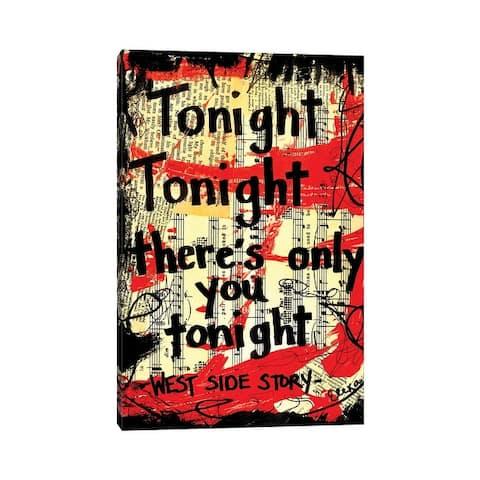 "iCanvas ""Tonight West Side Story"" by Elexa Bancroft Canvas Print"
