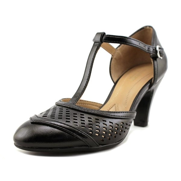 8aaecf15dfc Shop Naturalizer Loriana Women Round Toe Leather Heels - Free ...